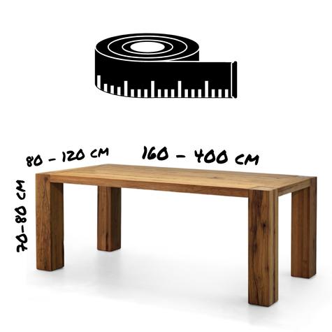 Holztisch nach Mass online bestellen