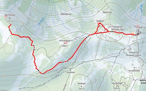 Wanderung Feuerkogel, Alberfeldkogel