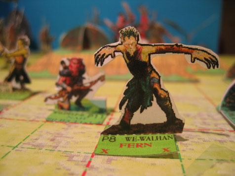Waldelfe WALHAN, ein sehr guter Kämpferer