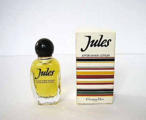 JULES : AFTER SHAVE LOTION - MINIATURE SEMI-ANCIENNE