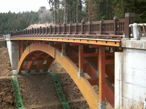 杉の木橋(宮崎県)
