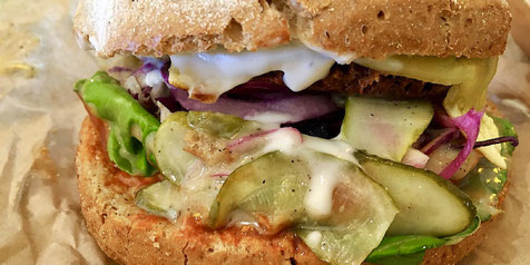 Vegan Burgers at GreenBurger in Copenhagen