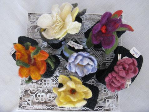 von li.: Sommerzeit, Sorbet, Frühling, Narzisse, Fuchsia, Roses