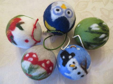 von li.: Apfelbäckchen, Hedwig, Schneeglöckchen, Winterfeuden, Glückspilz