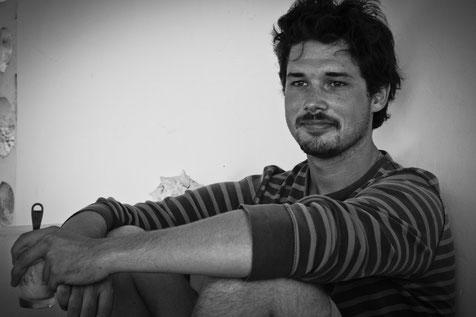 Der Gründer Kilian Lenz auf seiner Reise 2011 in Südamerika.