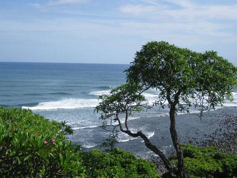 Blick auf Playa La Libertad