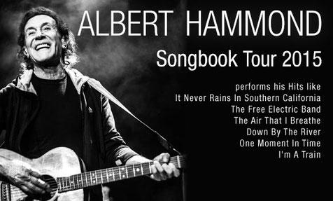 Albert Hammond |Musiktheater Rex / Bensheim | 17.11.2015