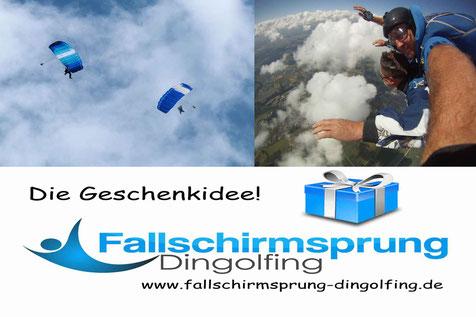 Tandemsprung Bayern mit fallschirmsprung-dingolfing