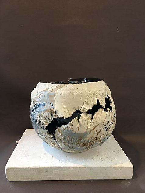 Céramique de Grès  Dia 40cm