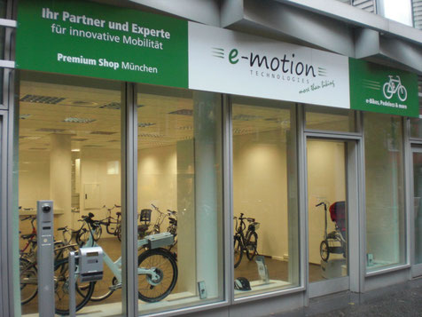 Elektrorad-Laden in München