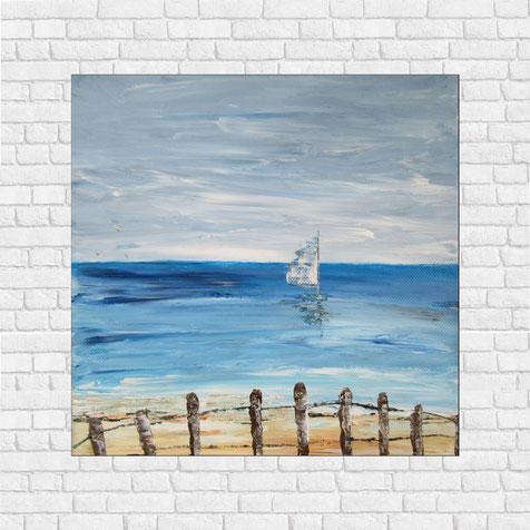 petit-tableau-carre-paysage-ocean-voilier-peinture-marine-artiste-peintre-royan-audrey-chal