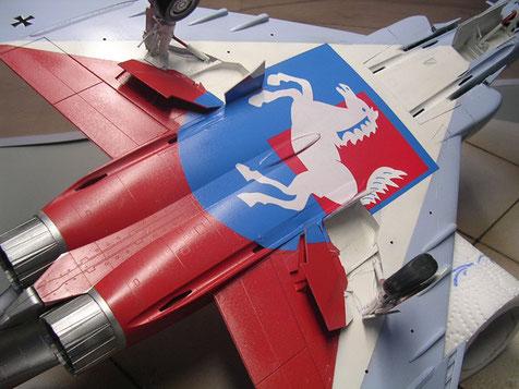 Das Wappen Westfalen - ein Homage des JG 72 an das beheimatenden Bundesland