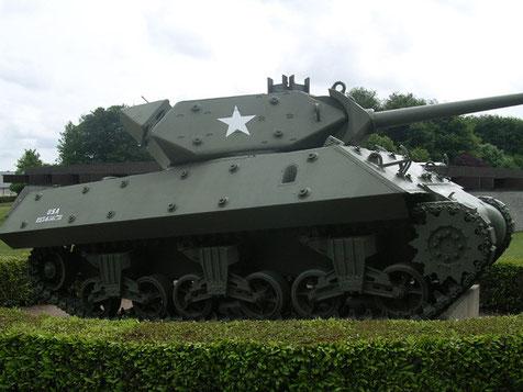 Der M10 Jagdpanzer, perfekt restauriert.
