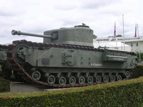 Beeindruckend Größe und 38 Tonnen Stahl.