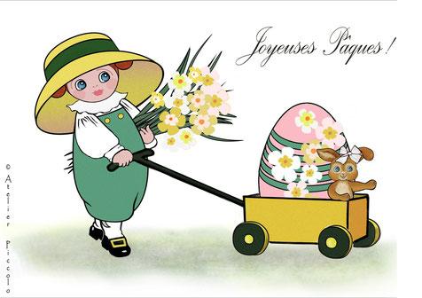 Atelier Piccolo et Adeline Lemétais célèbrent Pâques et le retour du Printemps !