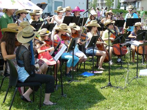 Ecole de musique EMC à Crolles - Grésivaudan : orchestre à cordes, de tous les âges.