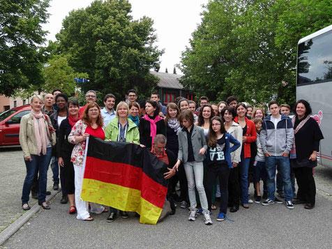 Ecole de musique EMC à Crolles - Grésivaudan : rencontre avec l'orchestre en Allemagne.