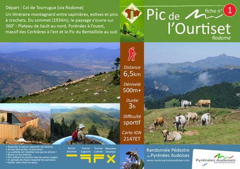 Fiche rando Pyrénées Audoises