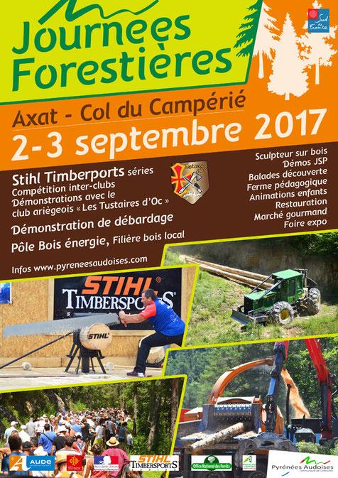 Journées Forestères 2017 - Col du Camperié - Axat