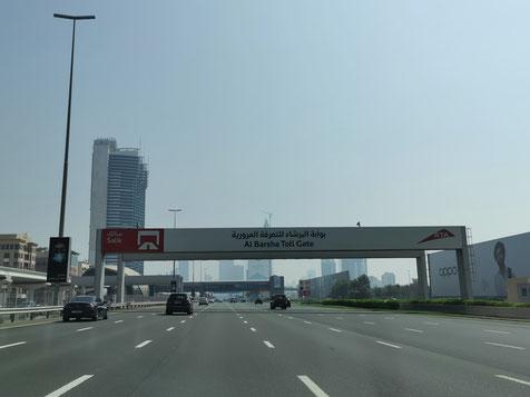 """Toll Gate"" in Dubai"