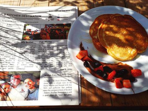Leckere Pancakes bei Bakers Kitchen