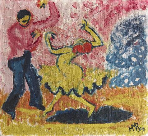 """""""Tänzer"""", Max Pechstein, 1910"""