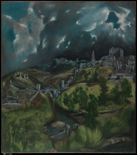 Вид Толедо - самые известные картины Эль Греко