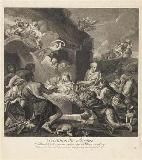 d'après Carlo Maratta-de Poilly graveur- 1729-Abbeville Musée Boucher de Perthes-cliché RMN