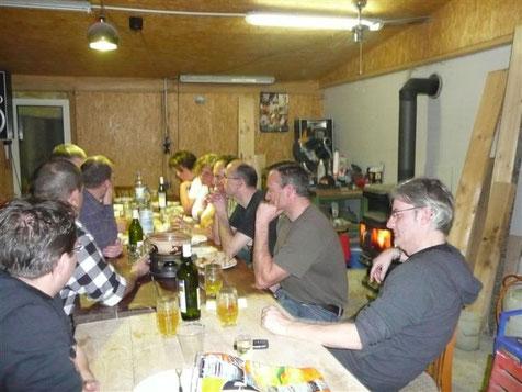 Fondueabend und Stamm 30. Januar 2010