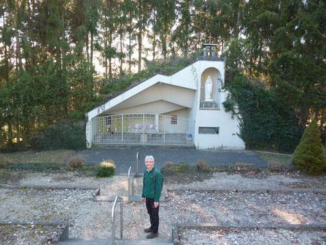 An der Ommersheimer Lourdes Grotte, 24.2.2019