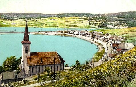 Panoramica del villaggio di Le Pont