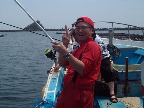 県南釣りバカ野郎さん。初対面でしたがいい人です