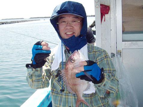 S吉さんの鯛。よくかけていました。名人です