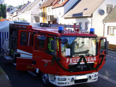Löschgruppenfahrzeug LF 10/6 der Freiwilligen Feuerwehr Streitau