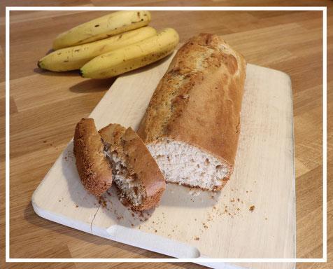 Bananenbrot - geeignet für Kleinkinder