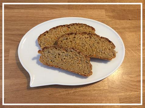 Ein Rezept für ein leckeres Brot für Kleinkinder