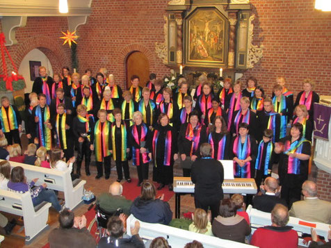 "Auftritt ""Gospel & Mehr"" Adventssingen 2009"