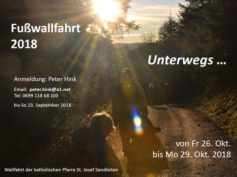Einladung zur Fußwallfahrt 2018 (PDF)