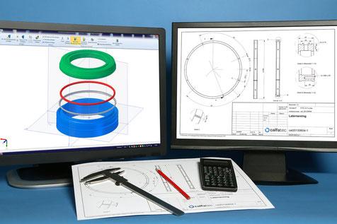 Wir schaffen die Verbindung zwischen virtuellen Daten und realen Bauteilen.