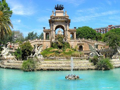 Барселона, парк  Сьютадела