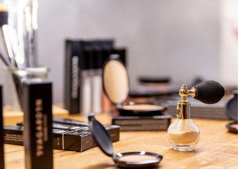 Makeup Produkte in der Beauty & Wellness Auszeit in Affing