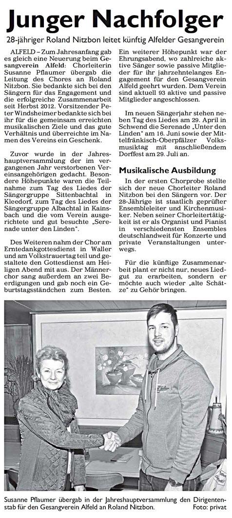 Hersbrucker Zeitung 05.02. 2018