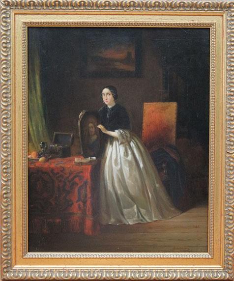 te_koop_aangeboden_een_genre-schilderij_van_de_nederlandse_kunstschilder_samuel_de_vletter_1816-1844