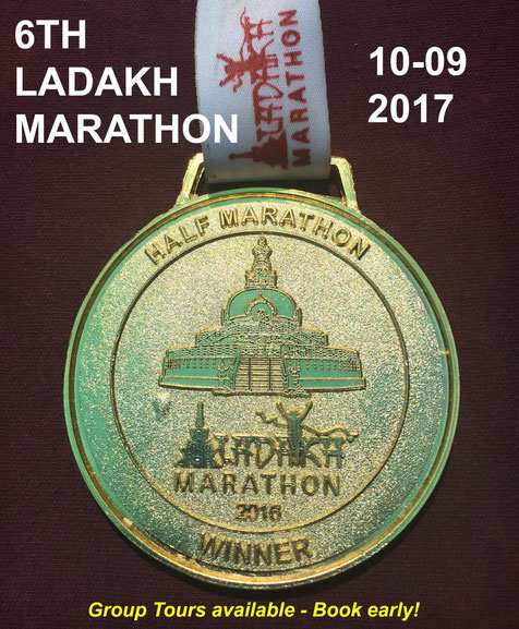 Ladakh Marathon: 10th September 2017