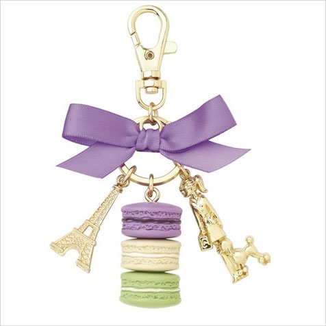 Laduree Parisienne Casis Violet Key Ring