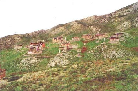 ドルポ地域にあるサムリン僧院