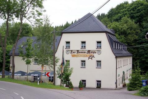 Bild: Teichler Wünschendorf Erzgebirge Damm-Mühle Teichler
