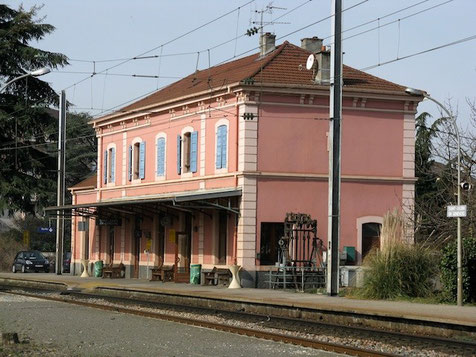 Gare de St Julien-en-Genevois