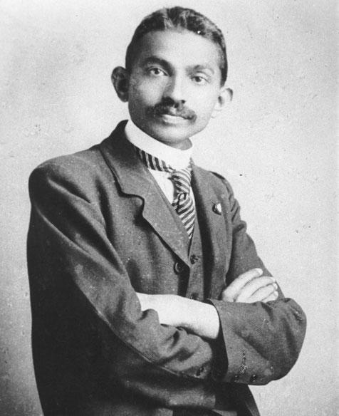 Mohandas Gandhi ; Date - 1893  - Attorney at law