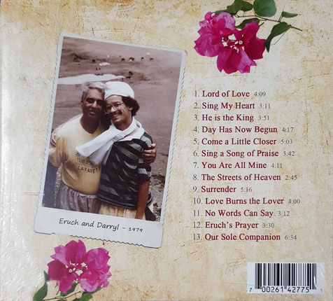"""Lord of Love"" - back cover"